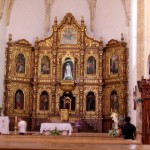 Altar des Franziskanerklosters