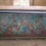 Wandmalereien in Originalfarbe