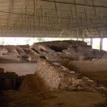 Ausgrabungsstätte Cacaxtla in Mexiko