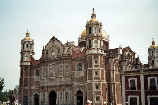 Basilice de Guadalupe in Mexiko
