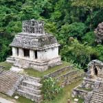 Blatt-Kreuz Tempel