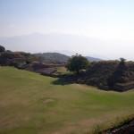 Ausblick über Monte Alban