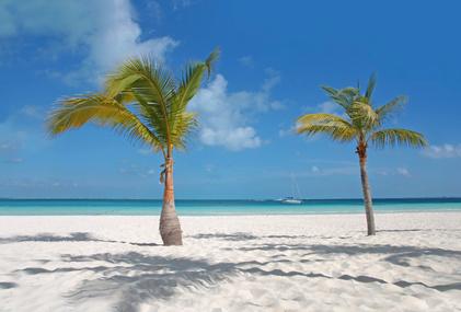 Schöne Strände Karibikküste