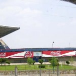 Fussball Stadion in Puebla