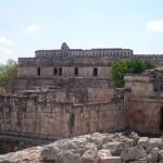 Tempel in Kabah Mexiko