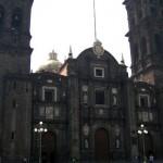 Kirche in Puebla Mexiko