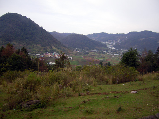 Landschaft bei San Christobal de las Casas