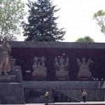 Mayaherrscher Denkmal im Chapultepec