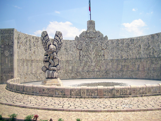 Indianerdenkmal in Merida