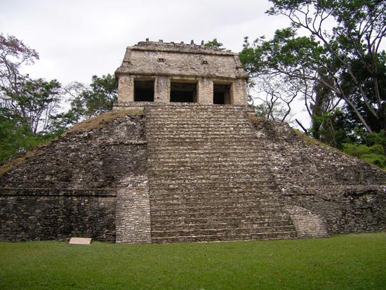 Palast des Fürsten in Palenque Mexiko