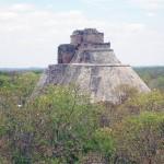 Uxmal Wahrsagerpyramide in Mexiko