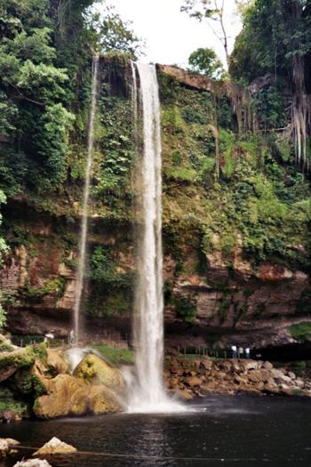 Wasserfall Misol Ha Mexiko