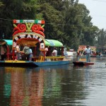 Xochimilco See Mexiko