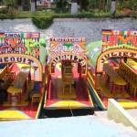 Boot Xochimilco Mexiko