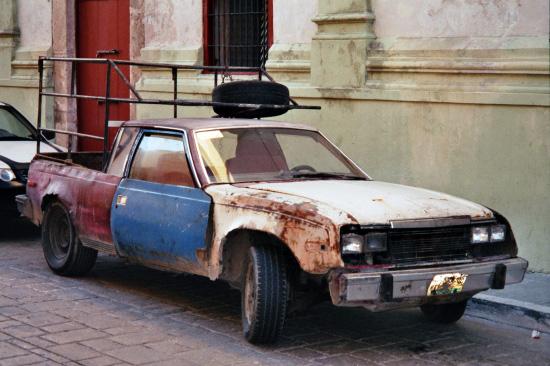 Rostlaube in Mexiko